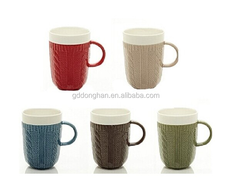 Ceramic Classic Coffee & Tea Sweater Mug Set For Gift ...