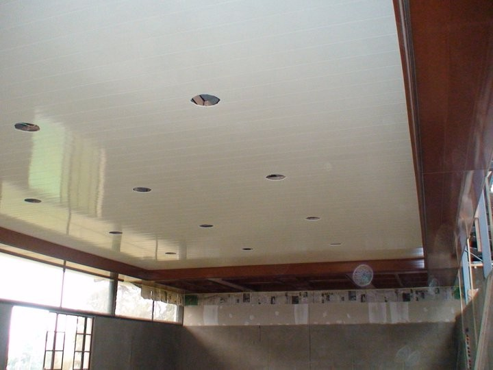 High Quality Plastic Pvc Ceiling Tiles Bathroom Waterproof Shower ...