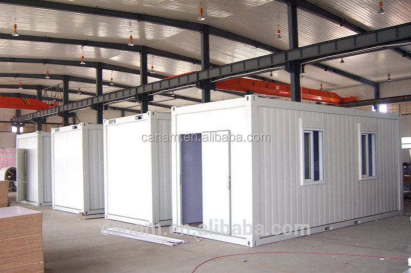 2016 newest low cost prefab construction 20ft 40ft living container house on sale
