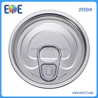 canned exotic food with full open easy open end