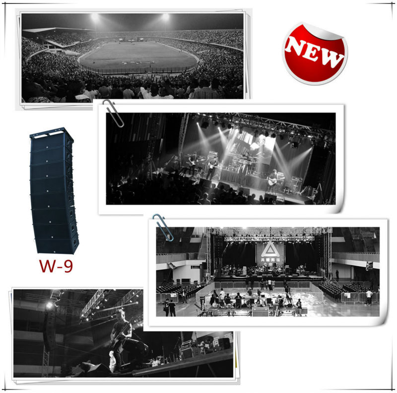 Professional Dj Sound System Stage Monitor Speakers
