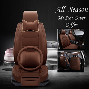 Hot Selling Unique Design Leather Fur Car Seat Cover for Wholesale