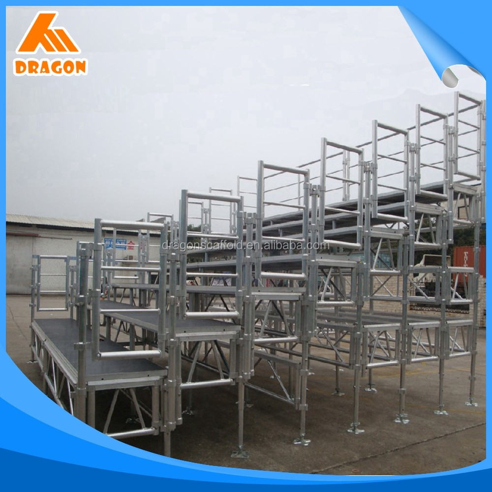 Nice Design durable aluminum stage grandstand