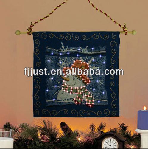 LED large christmas wall tapestries