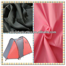 210T tent cloth 100% polyester silver coated