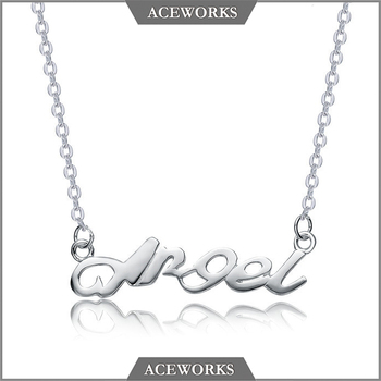 Aceworks alphabet style charm pendant initial angel jewelry 925 aceworks alphabet style charm pendant initial angel jewelry 925 sterling silver letter necklace aloadofball Gallery
