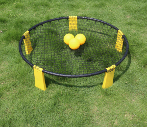 Spikeball Set Outdoor Sports Beach Ball Game 3 Ball Set With Pump spike ball