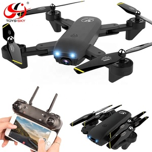 S169 Optical Flow Positioning Wifi FPV Altitude Hold Plam Gesture Controlled Foldable Drone 1080 HD Quadcopter Camera