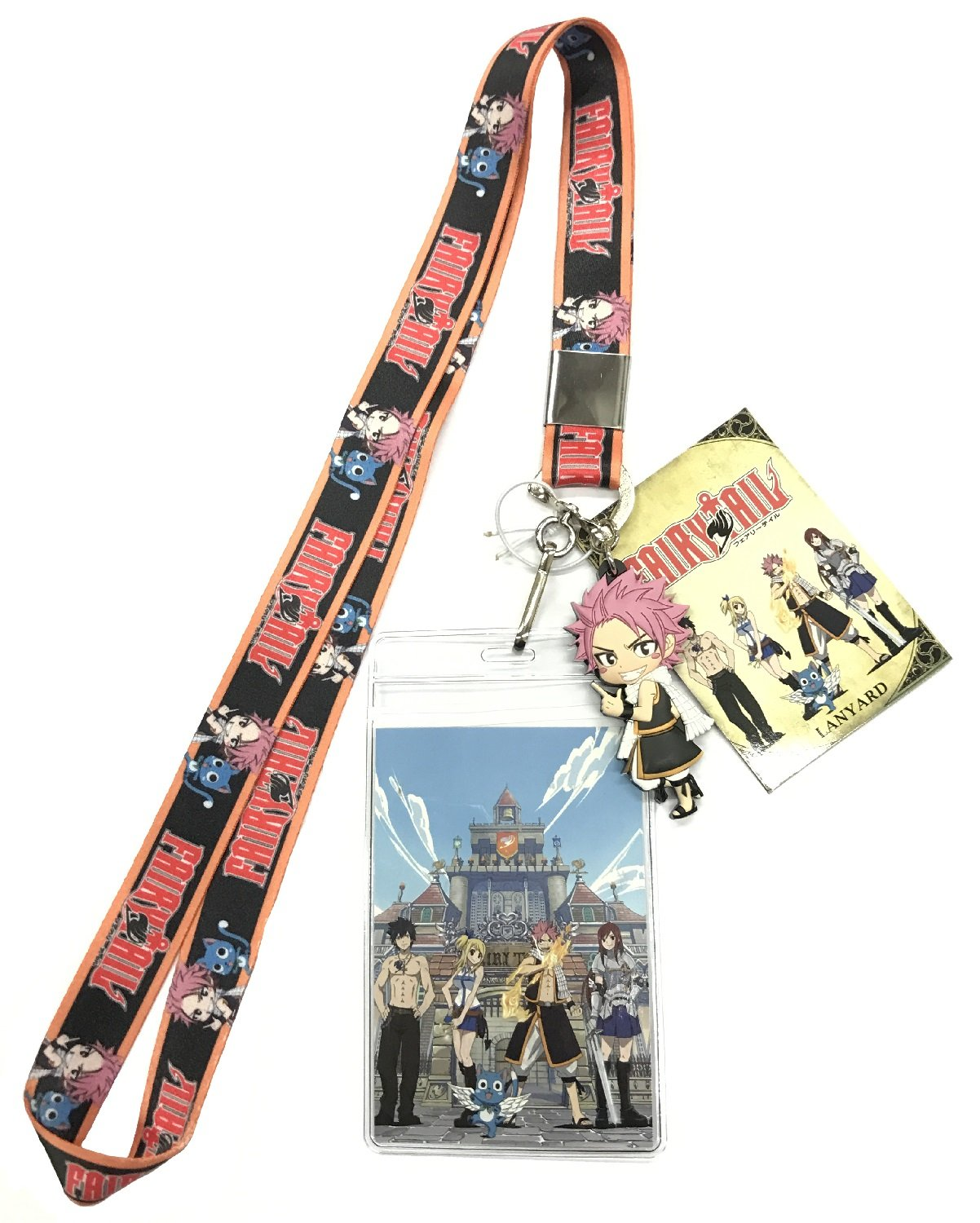 Great Eastern Entertainment Fairy Tail Natsu and Happy Lanyard