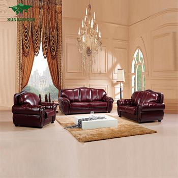 Latest Design Living Room Leather Sofa Set 3 2 1 Seat,Luxury Leather Sofa  Living