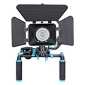 YELANGU DSLR/VCR Rig Movie Kit Shoulder Mount For DSLR Camera DV HDV Camcorder
