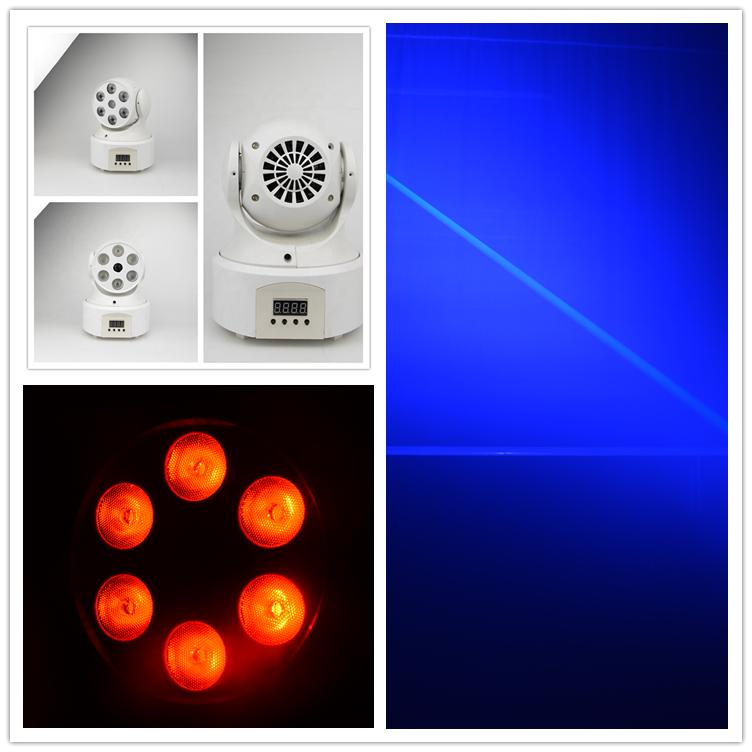 Big Dipper Betopper SevenStars decorative uplight Led Moving Wash Light with green fat beam laser 6*8W RGBW LEDS