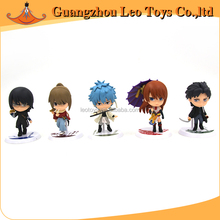 Wholesale Famous Japanese Cartoon Characters A Set of PVC Gintama Figure
