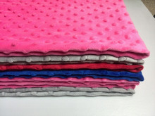 minky blankets for babys Wholesale soft cotton Organic minky baby blanket