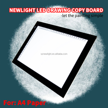 LED chips Tracing Copy Board ajustable brightness/LED neon maker drawing copy board