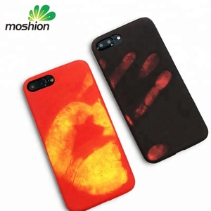 Silicone TPU Color Change Thermal Phone Case For iPhone 6 7 8 X XR XS Max