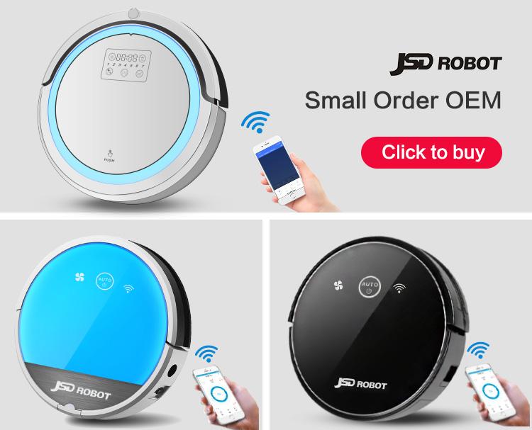 JSD ที่ดีที่สุดขายใหม่สมาร์ทผลิตภัณฑ์ทำความสะอาดบ้านไร้สายไฟฟ้า Mop Wifi อัจฉริยะสมาร์ทเครื่องดูดฝุ่น