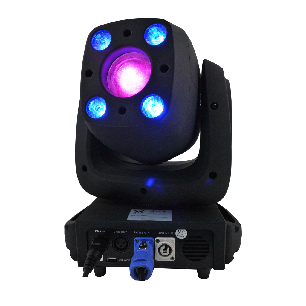 100W SPOT + 4X10W WASH moving heads lights super bright