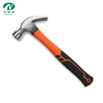 Hot Sale Plastic-coating Fiberglass Handle Caw Hammer