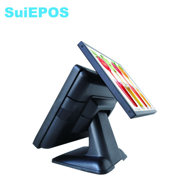 15 inch metal case /POS machine price all in one supermarket POS system cash register self checkout machines