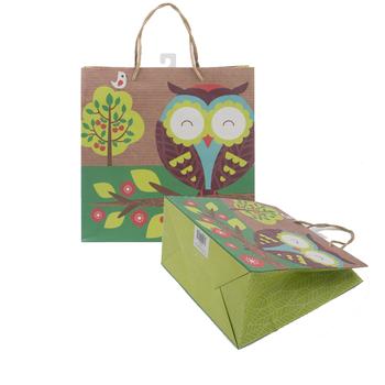 New Design Handmade Paper Gift Bag With Logo View Handmade Paper