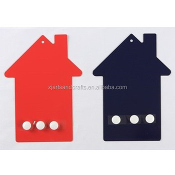 Metal Wall-mounted House Shape Magnetic Memo Board