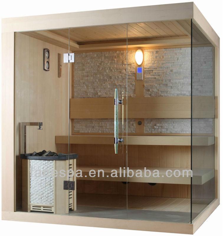 Traditionnelle sauna finlandais saunas avec harvia po le pour maison designs - Sauna finlandais prix ...