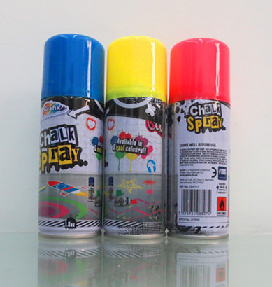 150ml Chalk Spray For Marking ,Drawing,Decoration,Colorful Surface And Good Decorative Effect