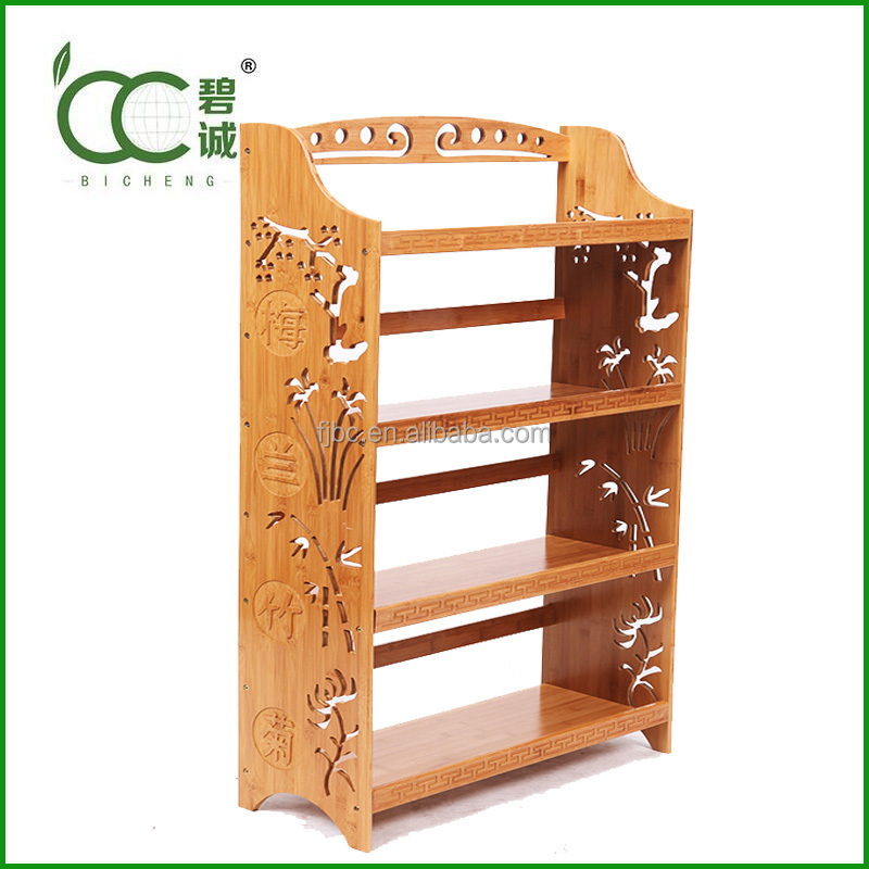 Bamboo Book Case/Book Shelf/Book Store Shelves