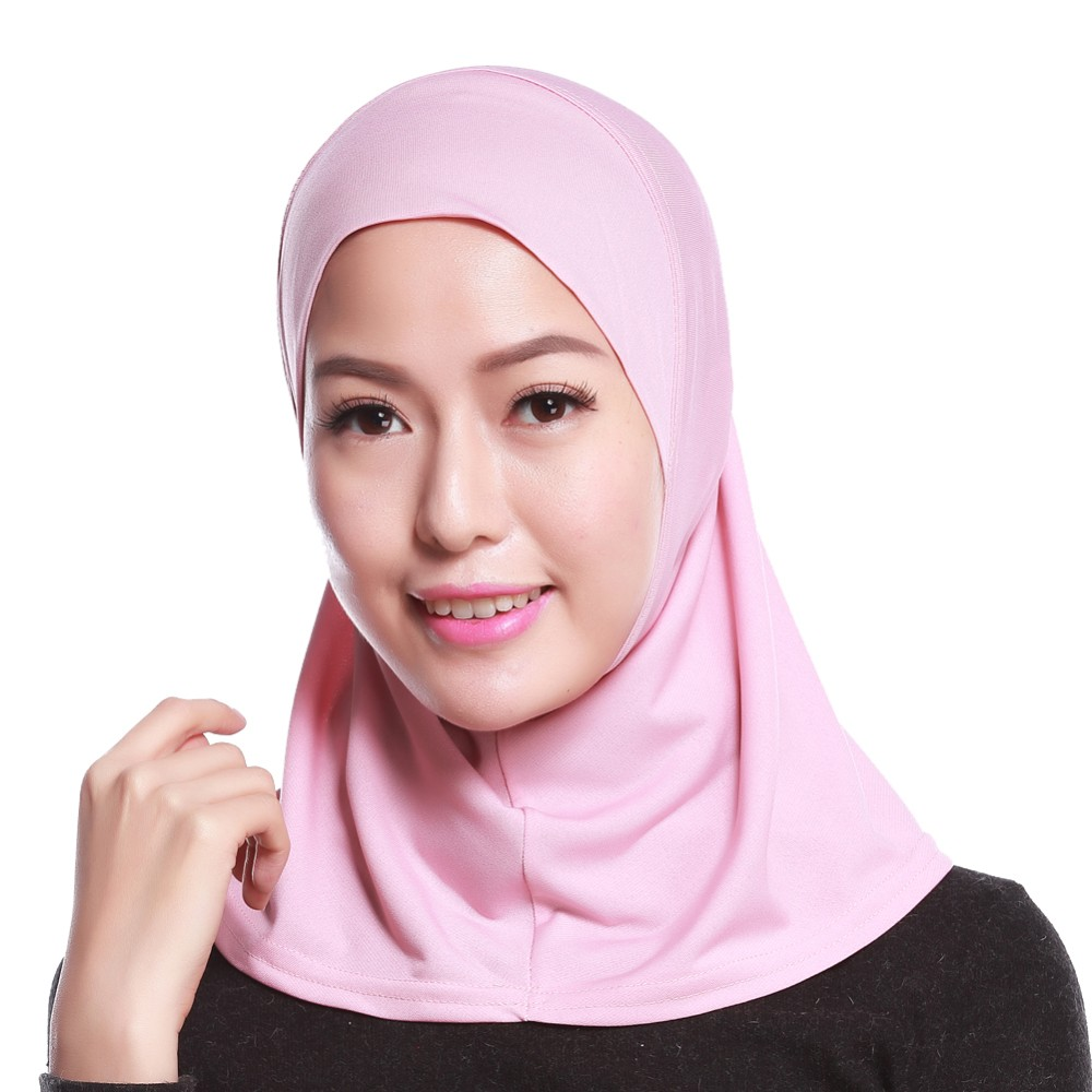 Beautiful muslim women inner cap hot selling crystal inner hijab