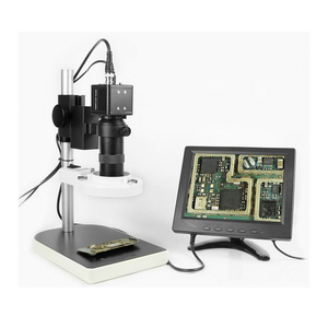 8 Inch CCD Digital Camera Display LCD Microscope for Repair