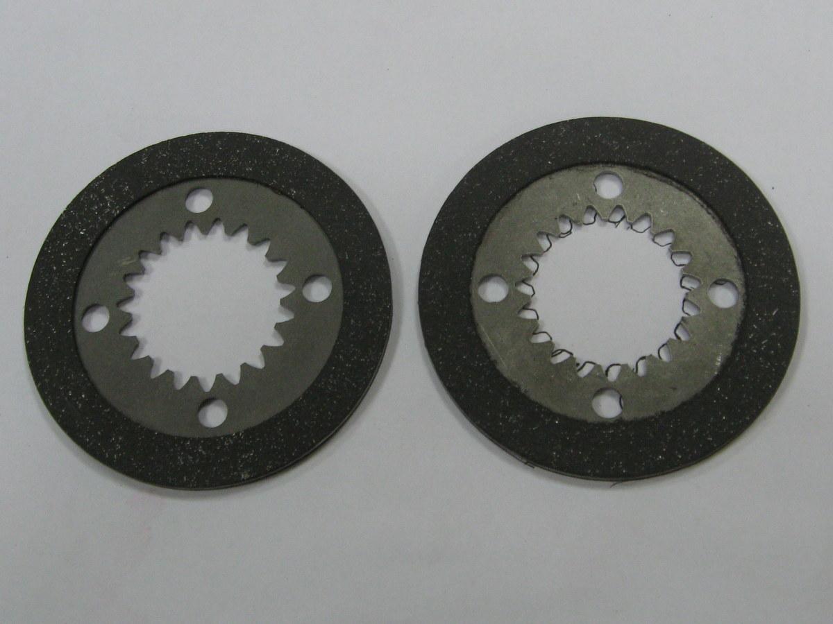 OEM No.12F-10-11240 transmissão automática placa de embreagem disco de aço de cobre de papel de fricção discos de fricção discos de discos