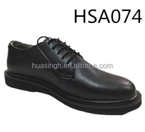 five holes design U.S. military force formal army office shoes Bates brand