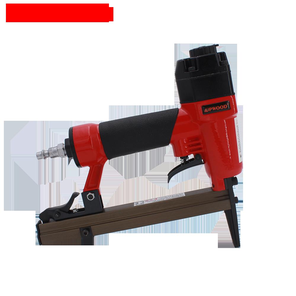 Upwood 5016ln Heavy Duty Upholstery Staple Gun Air Nail Gun 21 Ga