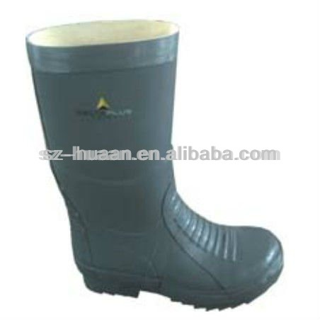 steel toe cap rain safety shoes/boots
