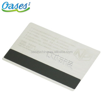 Magnetic stripe business card metal card made in china buy magnetic stripe business card metal card made in china reheart Gallery