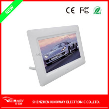 Alibaba Multi-fonctional lovely Appearance 1GB Memory 7 inch Digital picture Frame support SD card