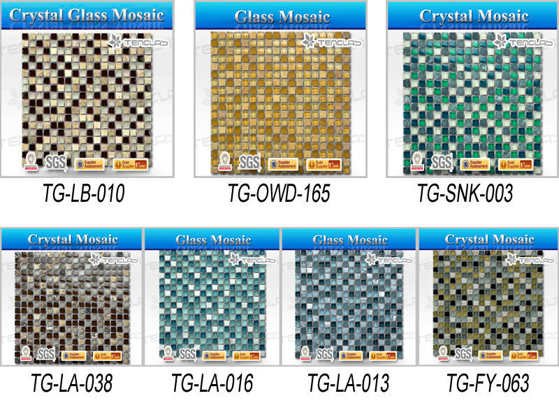 15x15x8 swimming pool crystal mosaic/shell mosaic/marble&stone mosaic tile