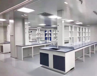 Laboratory Furniture,Metal Laboratory Workbench,Steel-Frame PP Workbench