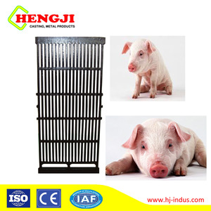 QT450-12 Poultry farming equipment cast iron pig slatted floor for gestation stall