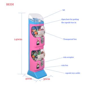 Gashapon machines Manufacturer kenya prize 4 inch capsule toy vending  machine