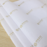 17gsm/22gsm Wholesale Custom Printed Clothing Tissue Paper Packaging Custom Logo Wrapping Paper