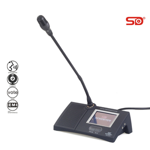 SINGDEN SM112 touchscreen conference voting microphone unit