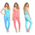 one piece swimsuit jumpsuit 100% Rayon Sleeveless V Neck Tie Dye Print Slim Fit Jumpsuit