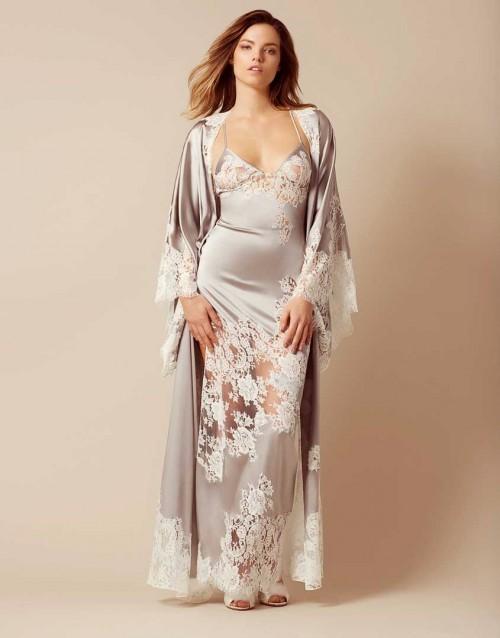 aeb5a15d4 Satén seda nightdress pijamas para damas mujeres fabricación al por mayor  moda mujeres ropa (TS0078E