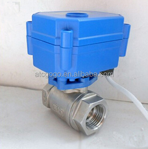 "DN15 1/2"" BSP stainless steel 12v electric ball valve MINI"