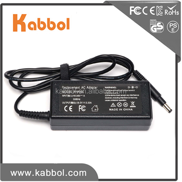 Original oem laptop universal charger for HP 19.5v 3.33a 65w replacement power supply