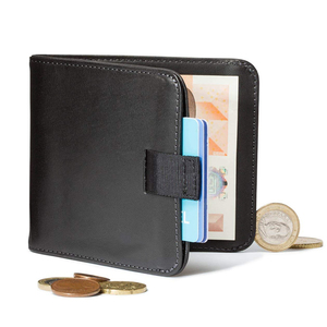 Wallet Real Leather For Men Wally Slim Bifold Money Clip Coin Euro Wallet