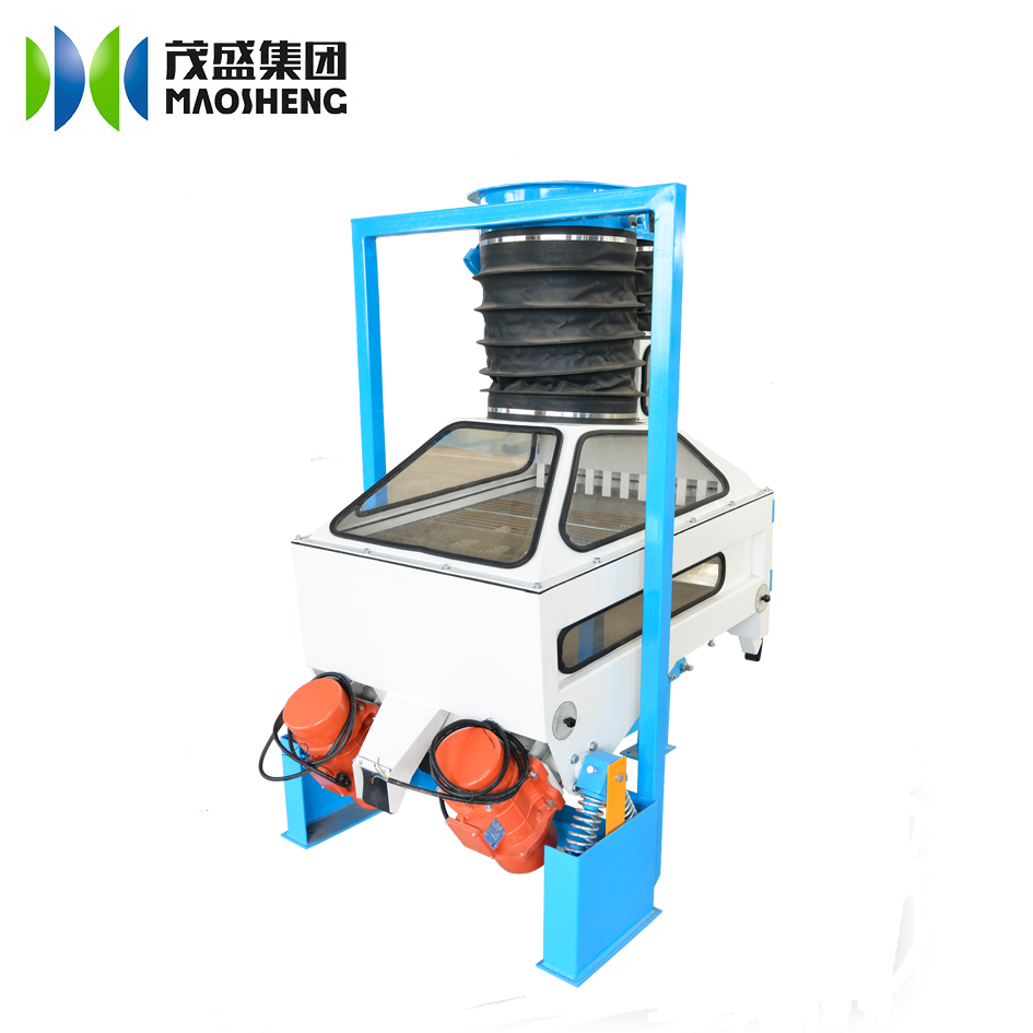 Wheat cleaning plant in flour milling line cashew nuts TQSF guar seed destoner machine for sale