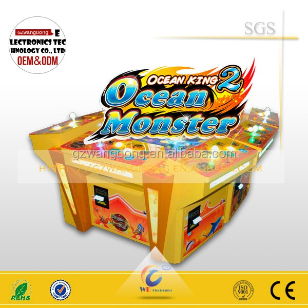 Video game console Ocean monster hunter fishing arcade machine
